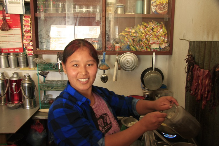 BMKF scholar Lhamu Sherpa wants return to her village to teach high school.