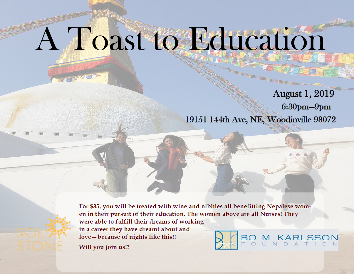 A Toast to Education