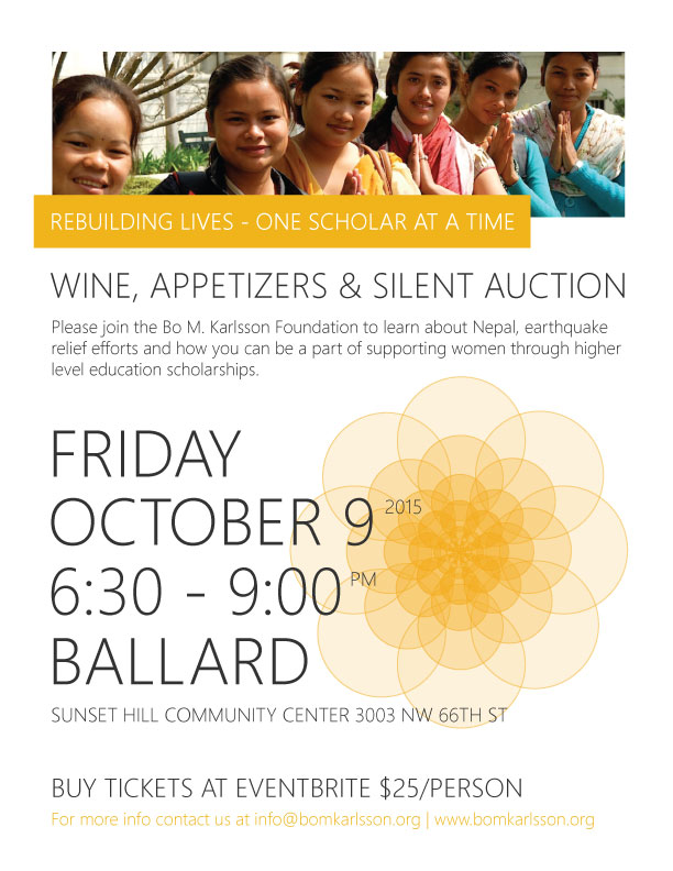 Wine Appetizers and Silent Auction