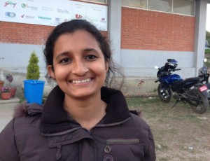 BMKF scholar Sarita Sharma is one of Nepal's first woman electronics engineers.
