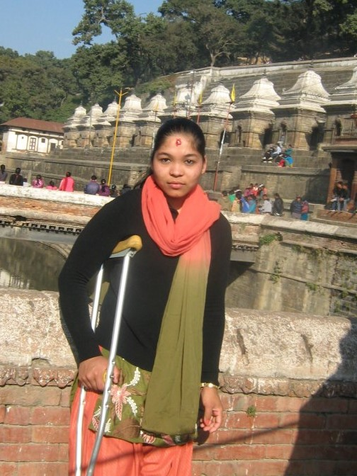 BMKF scholar Shanta Bhat plans to become a bank manager.