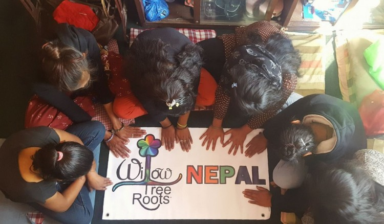 Willow Tree Roots is teaching entrepreneurship skills to Nepalese women rescued from sex trafficking.