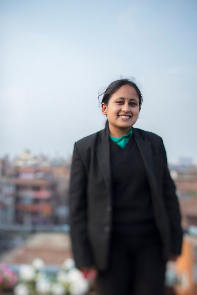 BMKF scholar Saniya Giri is pursuing a law degree.