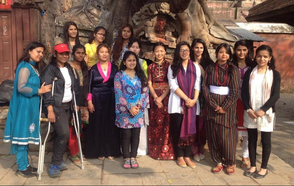 Group by tree Ellyn Nepal by Neema